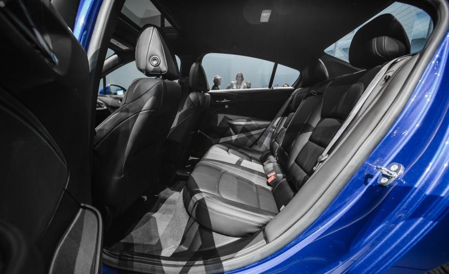 2016 Chevrolet Cruze RS Rear Seats