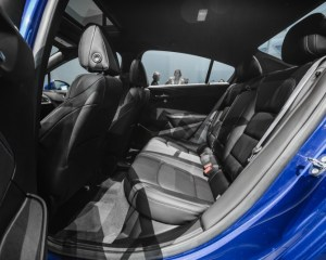 2016 Chevrolet Cruze RS Rear Seats