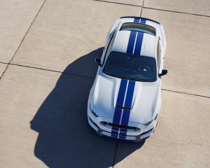 2016 Ford Shelby GT350 Mustang Top View