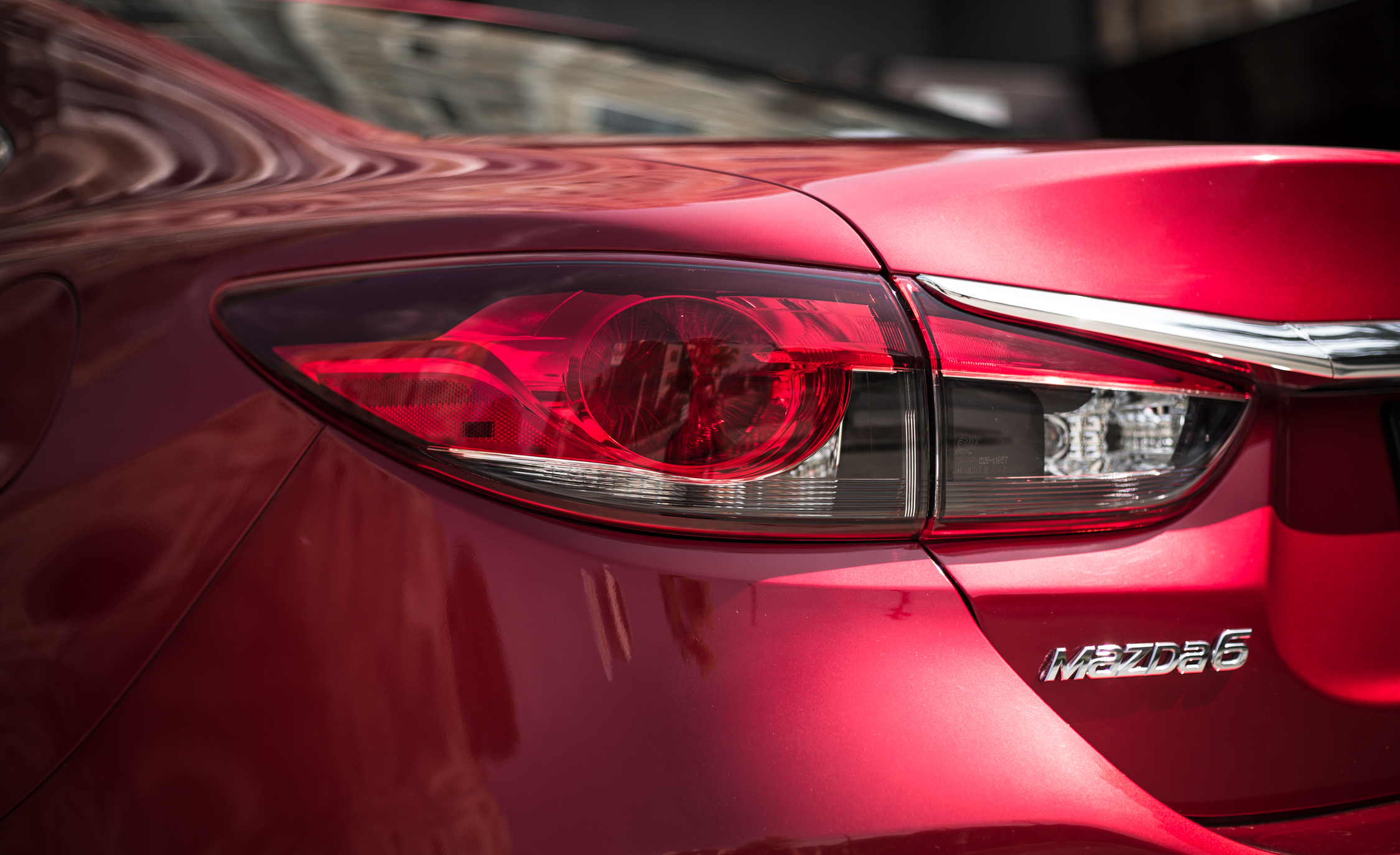2016 Mazda 6 Touring Exterior Left Taillight