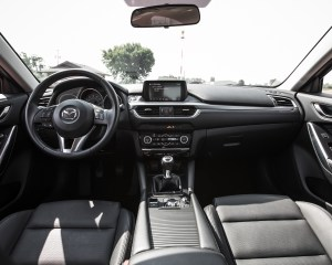 2016 Mazda 6 Touring Interior Dashboard