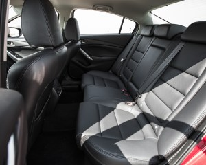 2016 Mazda 6 Touring Interior Rear Passenger Seats