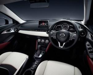 2016 Mazda CX-3 Front Interior