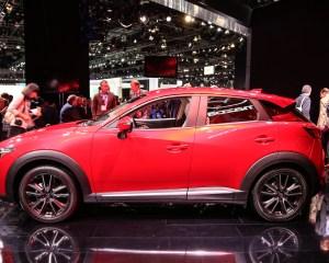 2016 Mazda CX-3 Side Design Preview