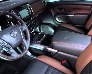 2016 Nissan Titan Interior Preview
