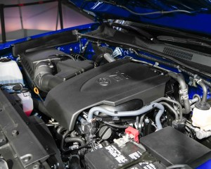 2016 Toyota Tacoma Engine Preview