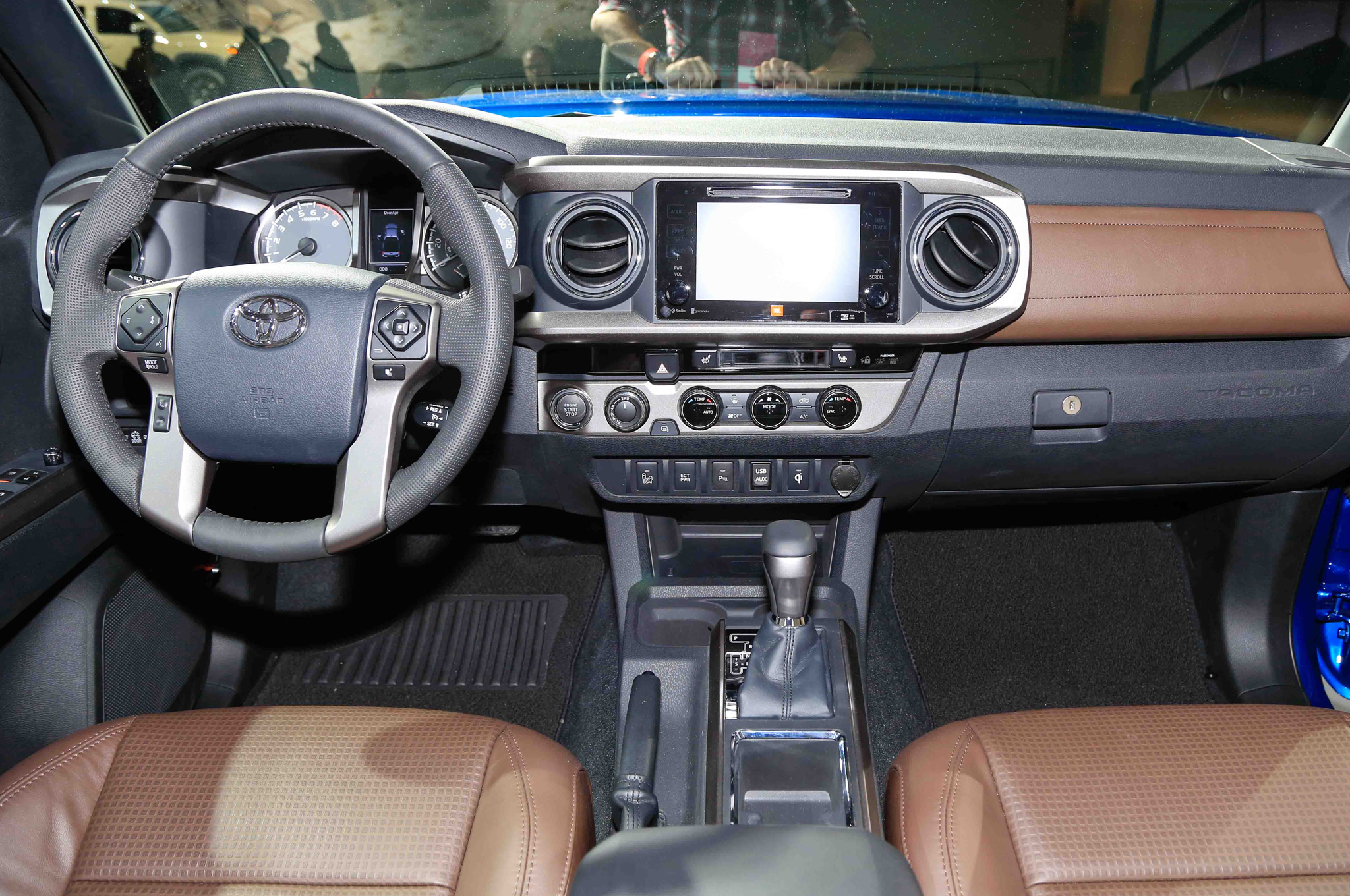 2016 Toyota Tacoma Interior Dashboard