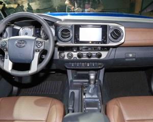 2016 Toyota Tacoma Interior Dashboard