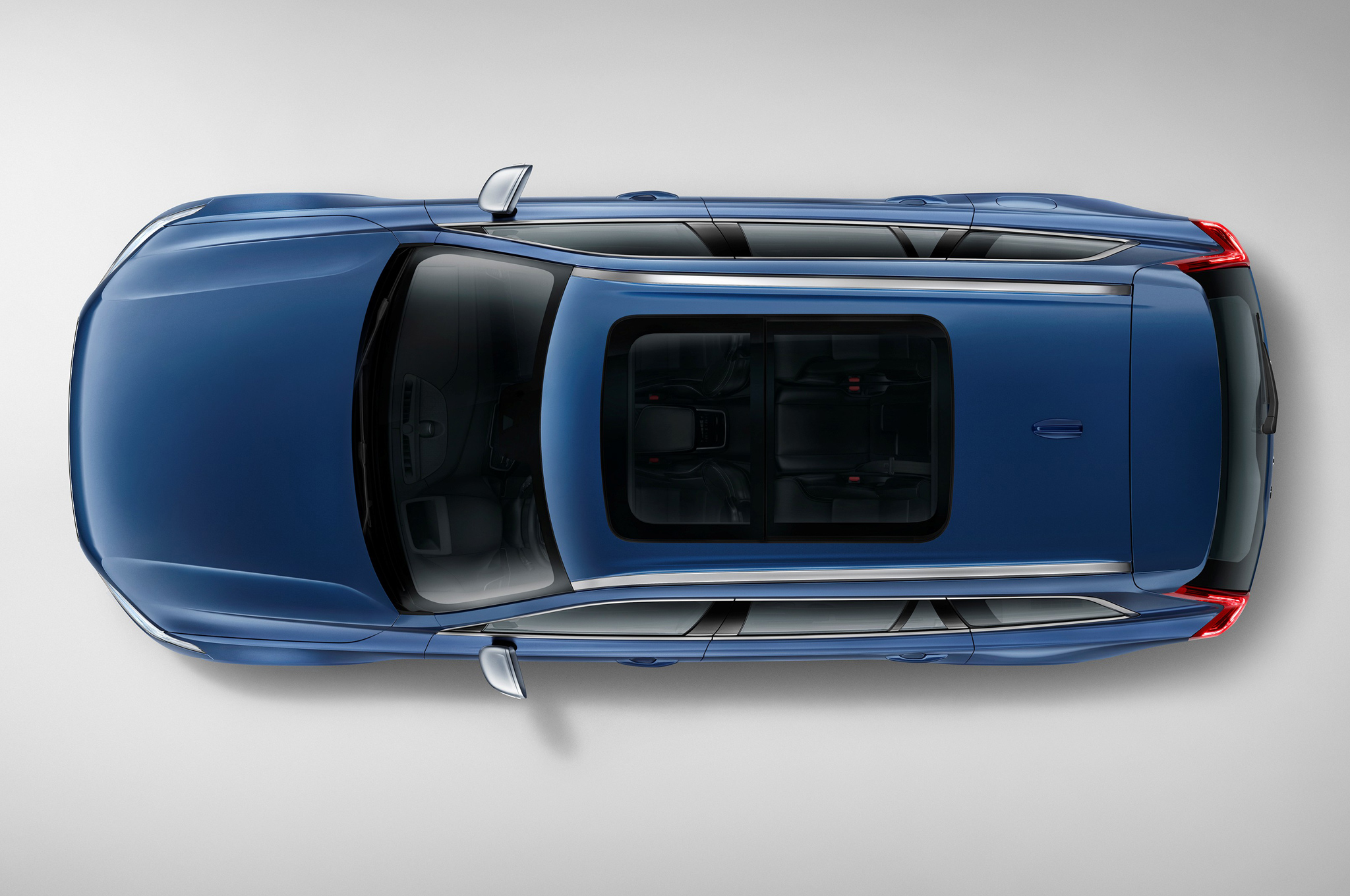 2016 Volvo Xc90 R-Design Top View
