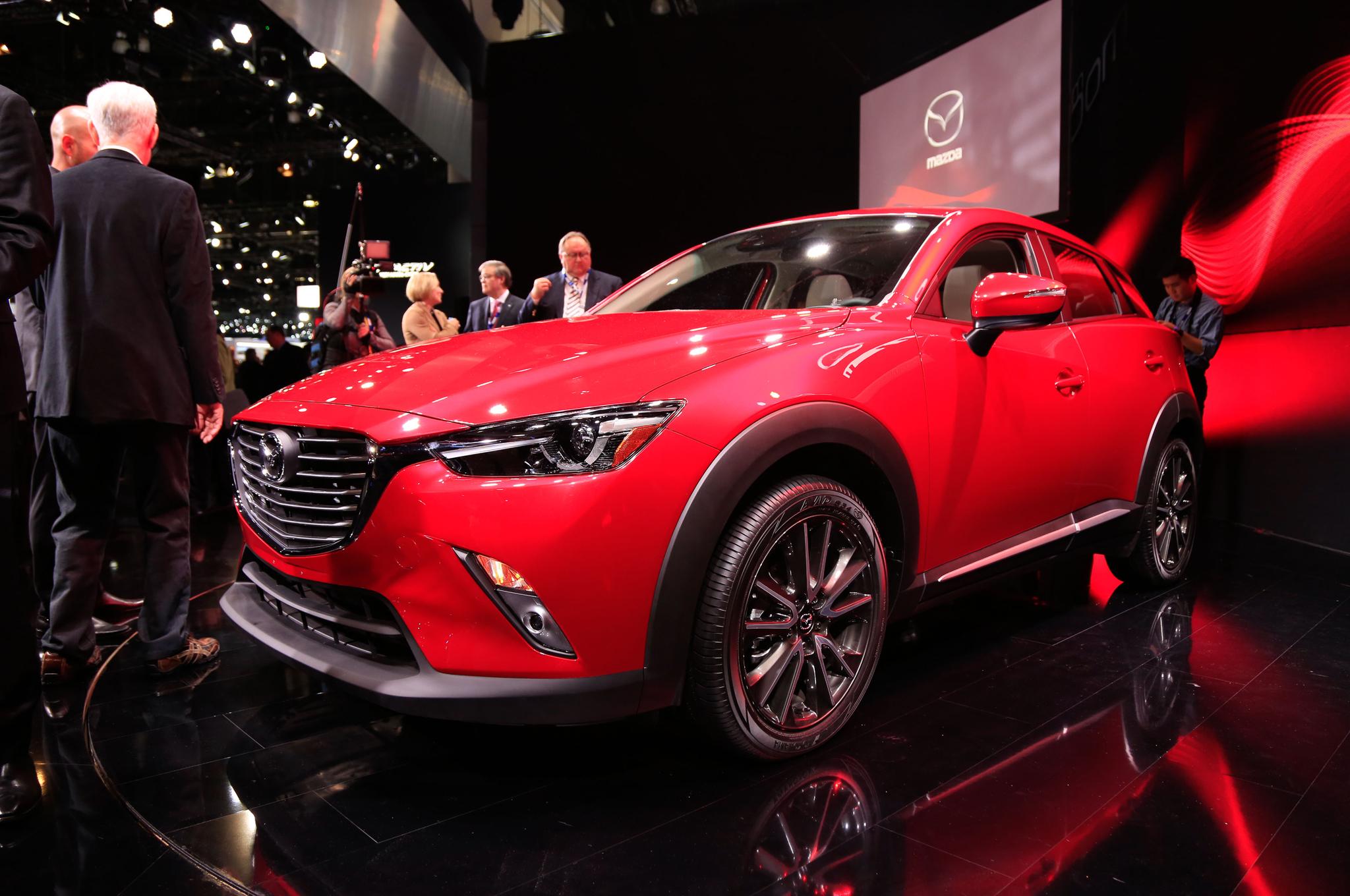 All New 2016 Mazda CX-3