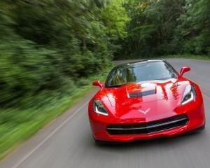 Chevrolet Corvette Stingray Front Photo
