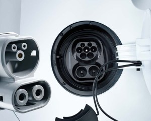 2014 Volkswagen e-Up Charger Port