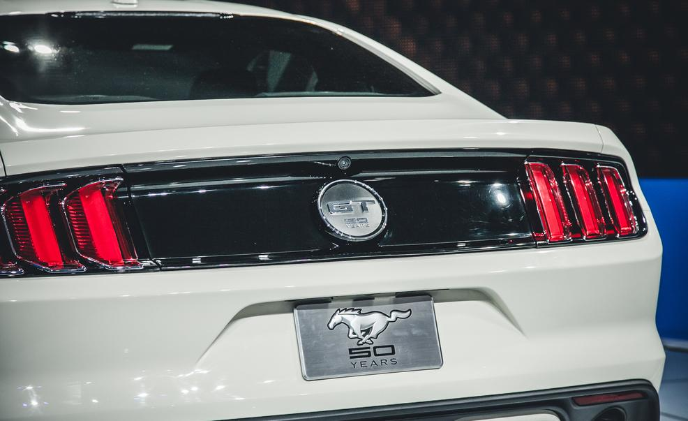 2015 Ford Mustang 50th Anniversary Edition Rear Close-Up