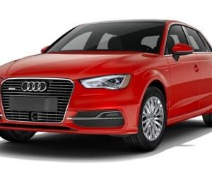 2016 Audi A3 e-Tron Red Exterior Design