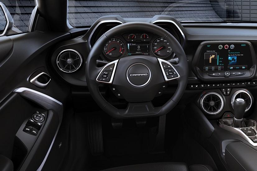 2016 Chevrolet Camaro Convertible Cockpit