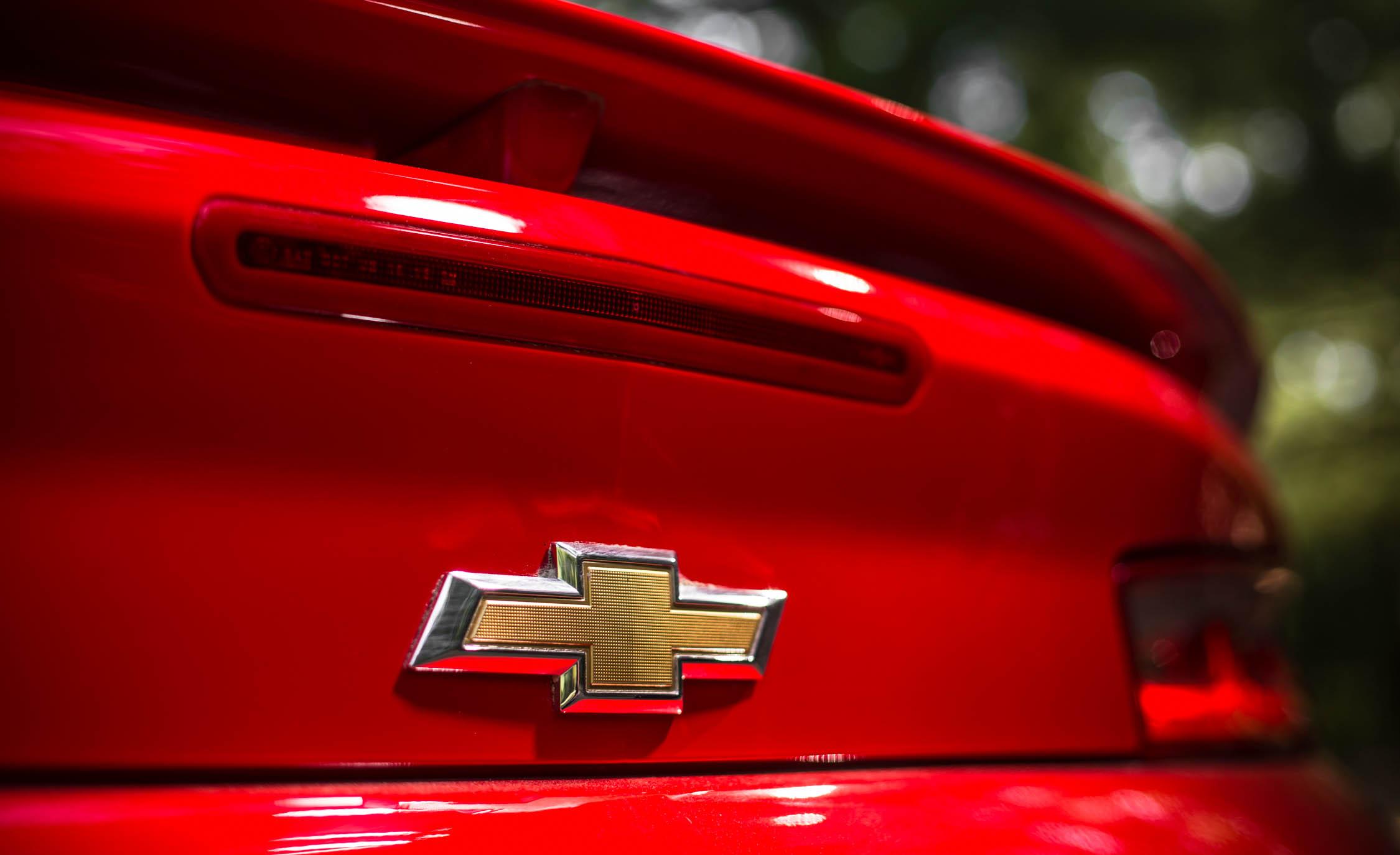 2016 Chevrolet Camaro SS Exterior Rear Badge