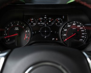 2016 Chevrolet Camaro SS Interior Speedometer