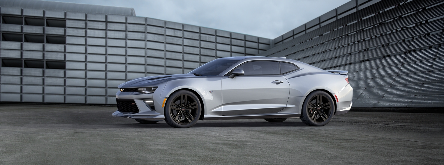 2016 Chevrolet Camaro Silver White Preview