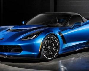 2016 Chevrolet Corvette Z06 Blue Preview