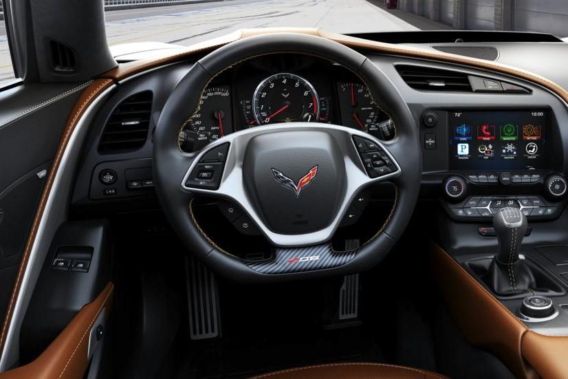 2016 Chevrolet Corvette Z06 Cockpit Interior