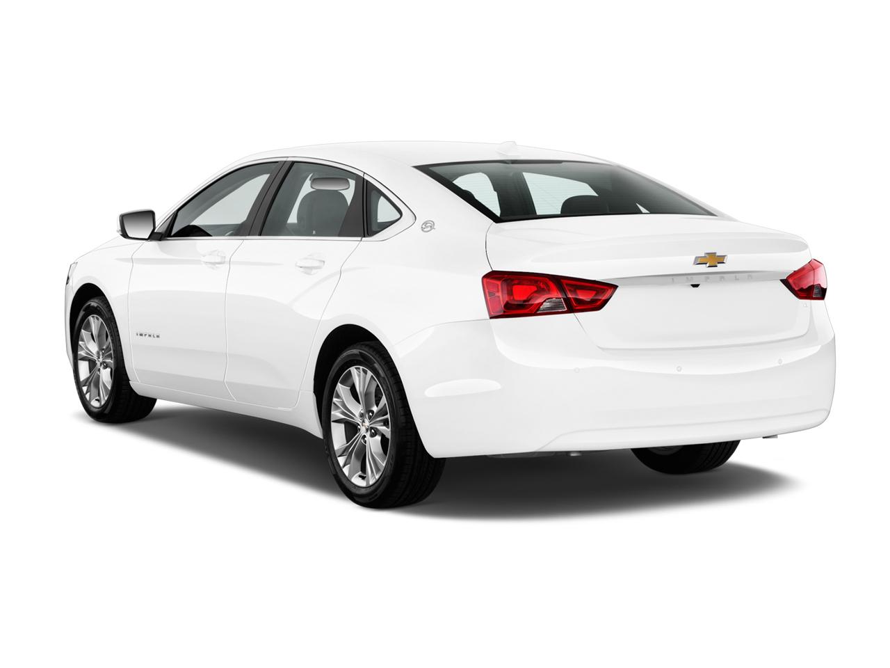 Chevrolet Impala White Rear Side Exterior