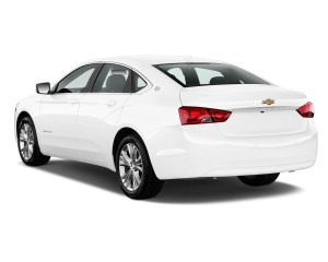 Chevrolet Impala White Rear Side Exterior