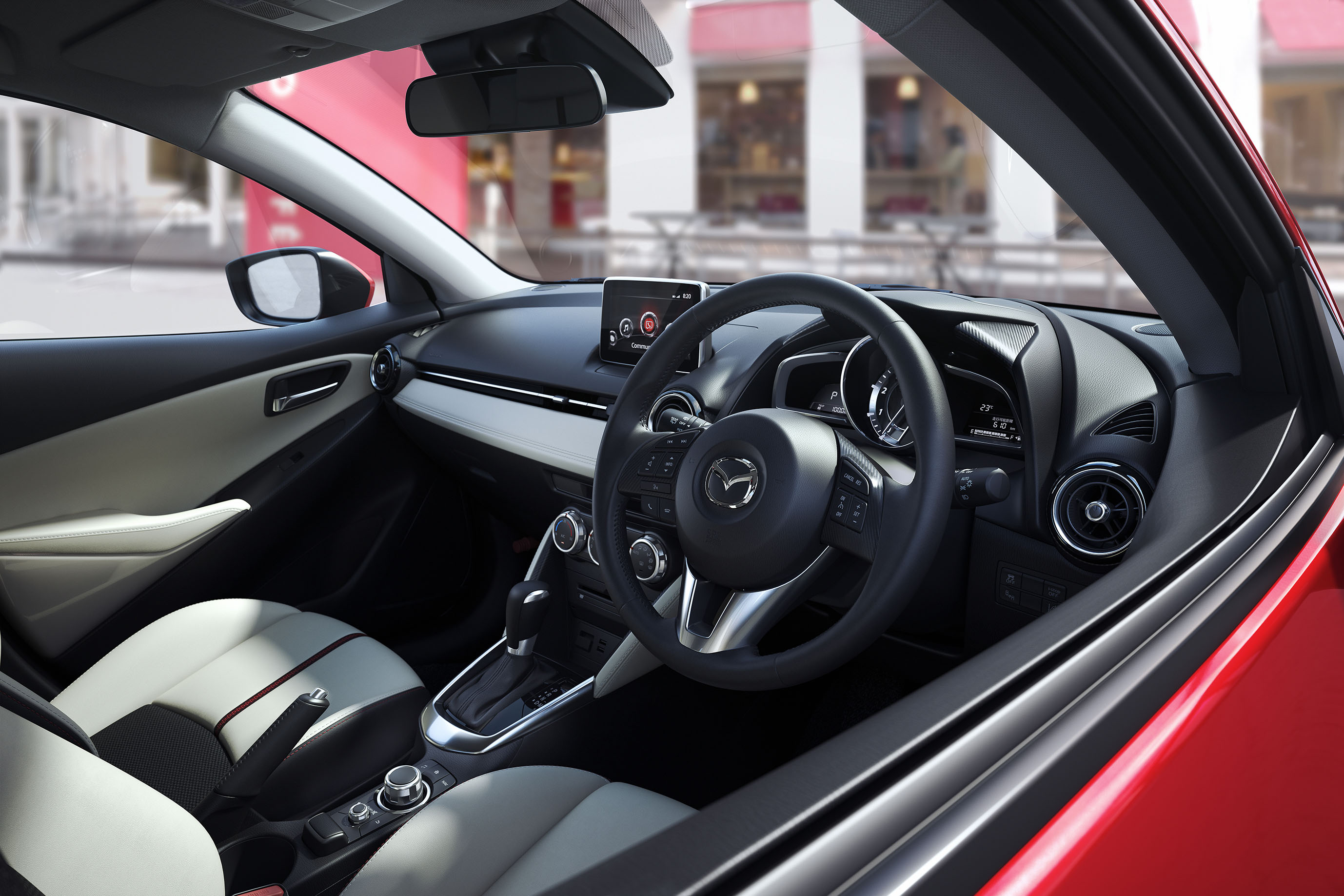 2016 Mazda 2 Cockpit and Dashboard