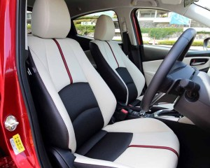 2016 Mazda 2 Rear Seats Interior