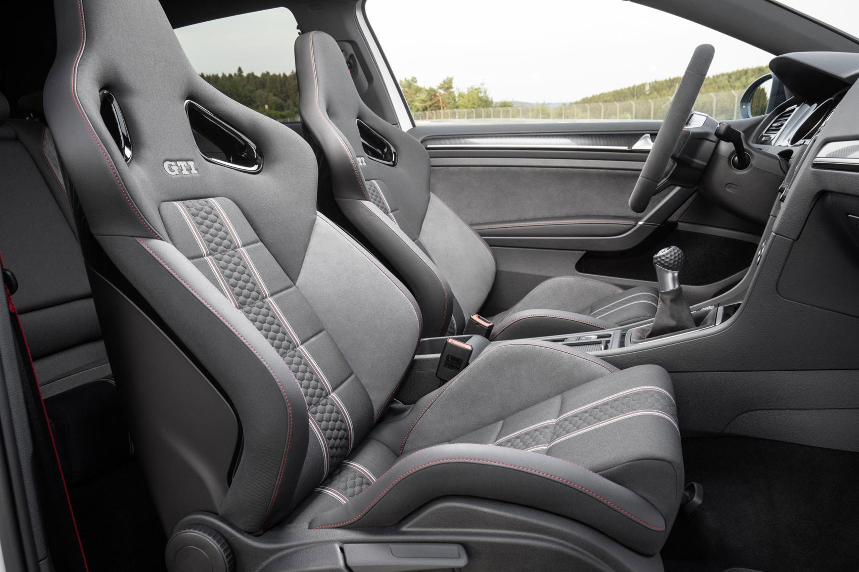 2016 Volkswagen Golf GTI Clubsport Front Seats Interior
