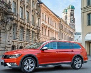 2016 Volkswagen Passat Alltrack Exterior Design