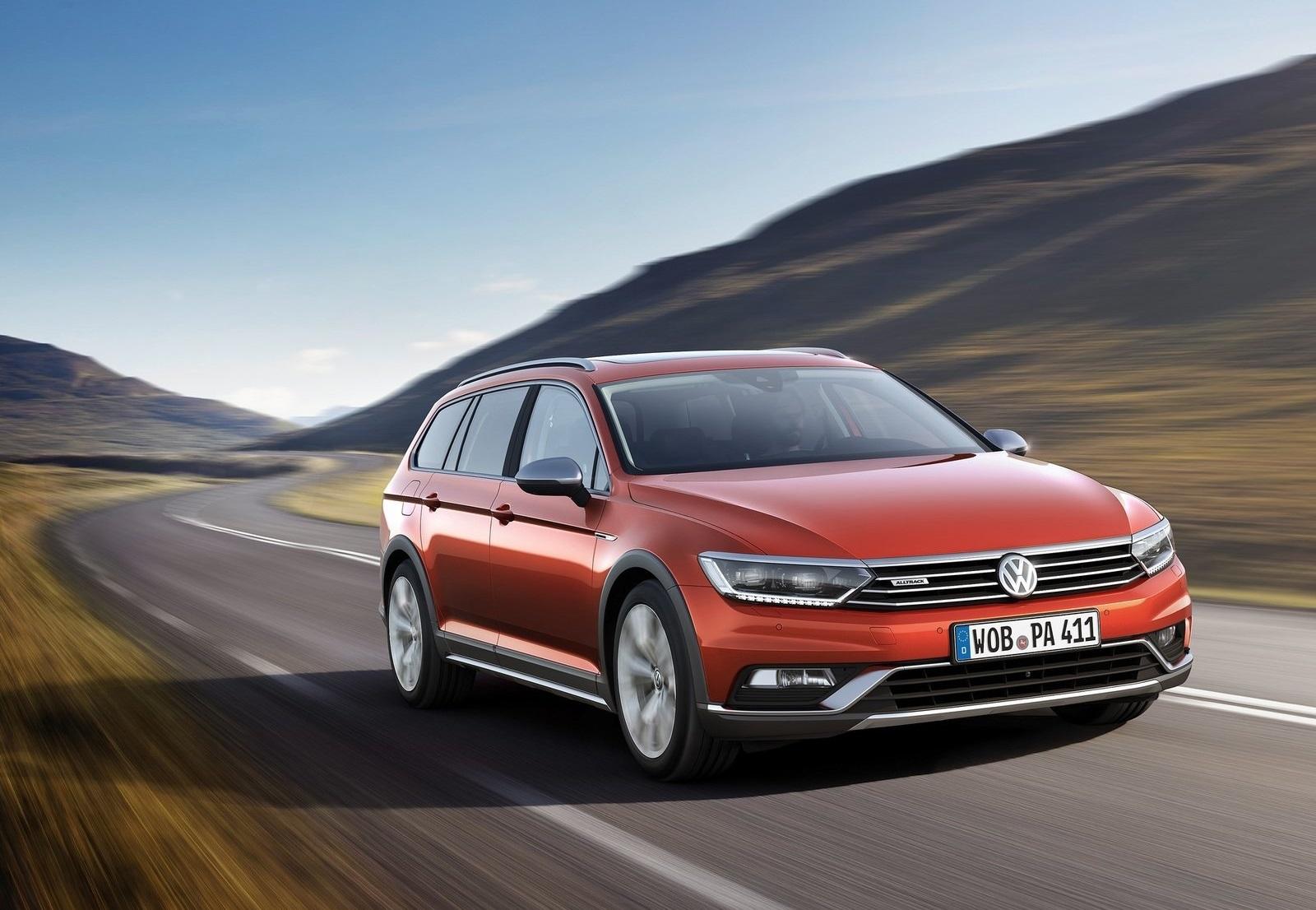 2016 Volkswagen Passat Alltrack Exterior Preview