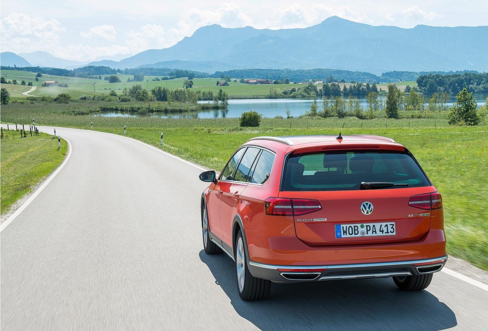 2016 Volkswagen Passat Alltrack Test
