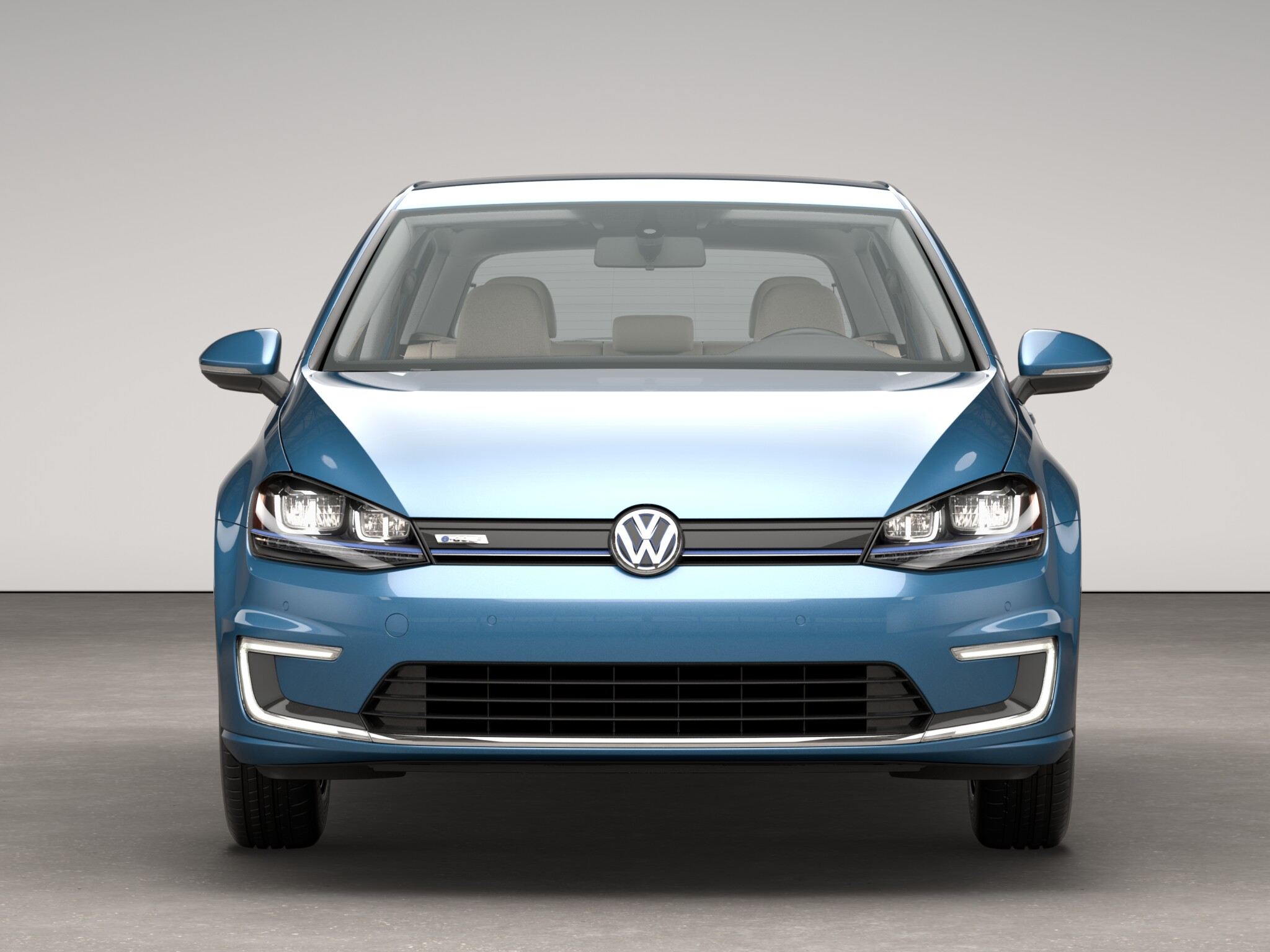 2016 Volkswagen e-Golf Front End Photo