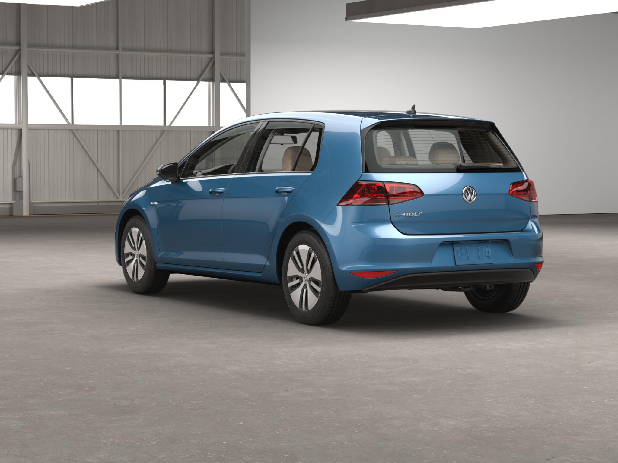 2016 Volkswagen e-Golf Preview