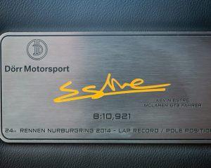 Dorr Motorsport McLaren 650S Spider Nürburgring 24H
