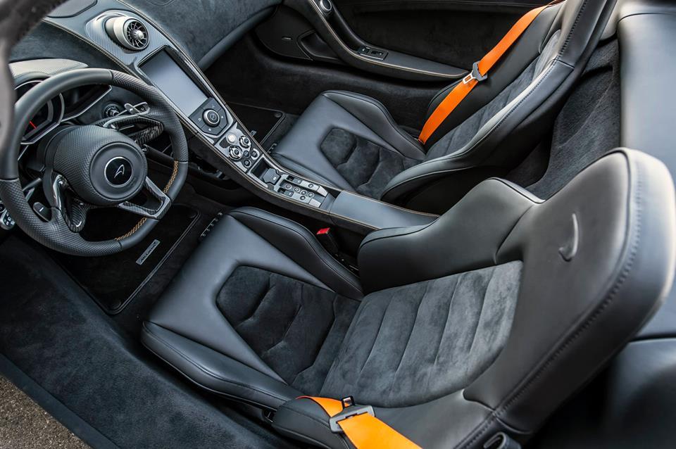 McLaren 650S Spider Nürburgring 24H Interior Preview