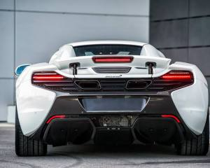 McLaren 650S Spider Nürburgring 24H Rear Photo