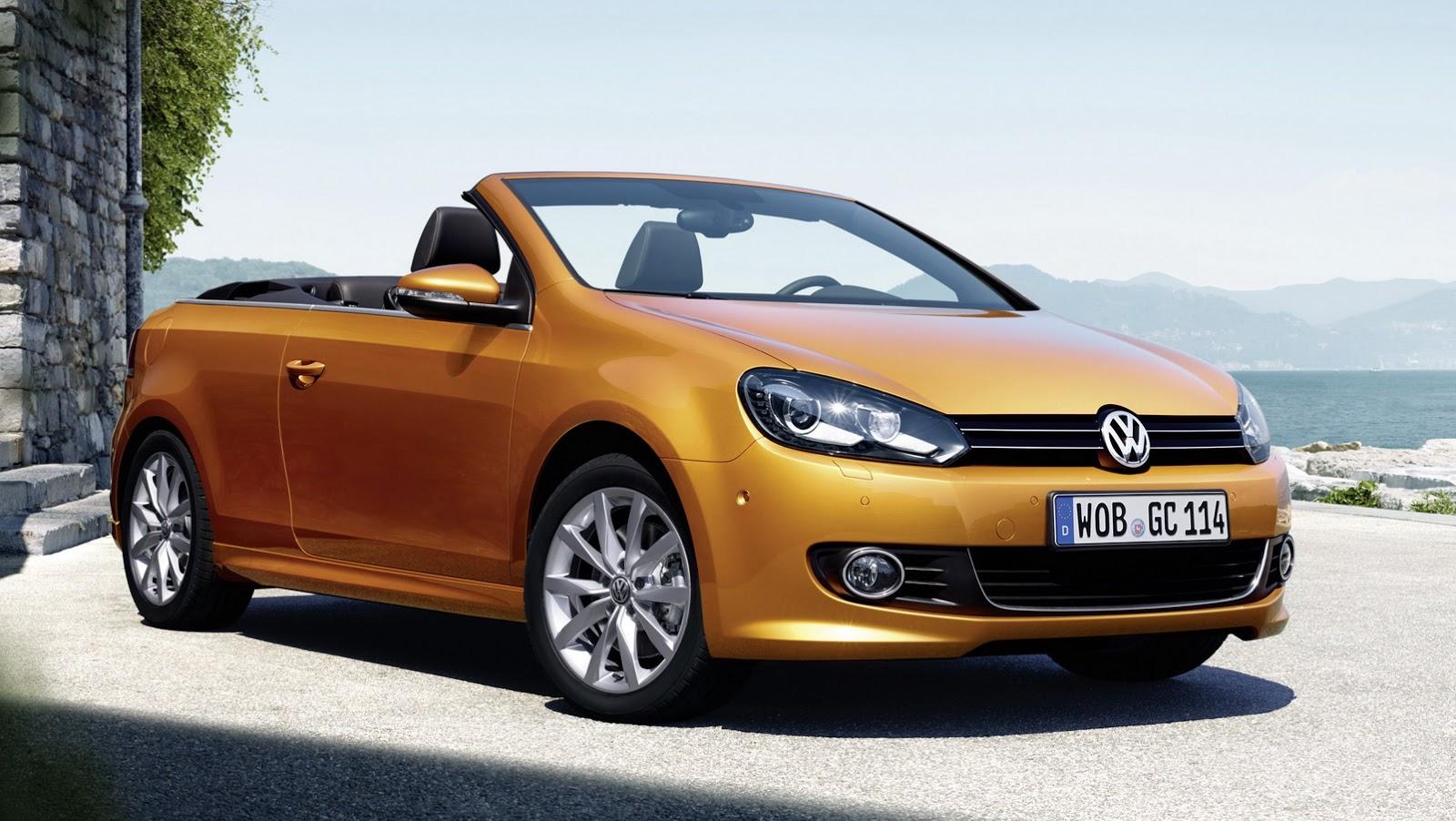 Next Gen 2016 Volkswagen Golf Cabriolet