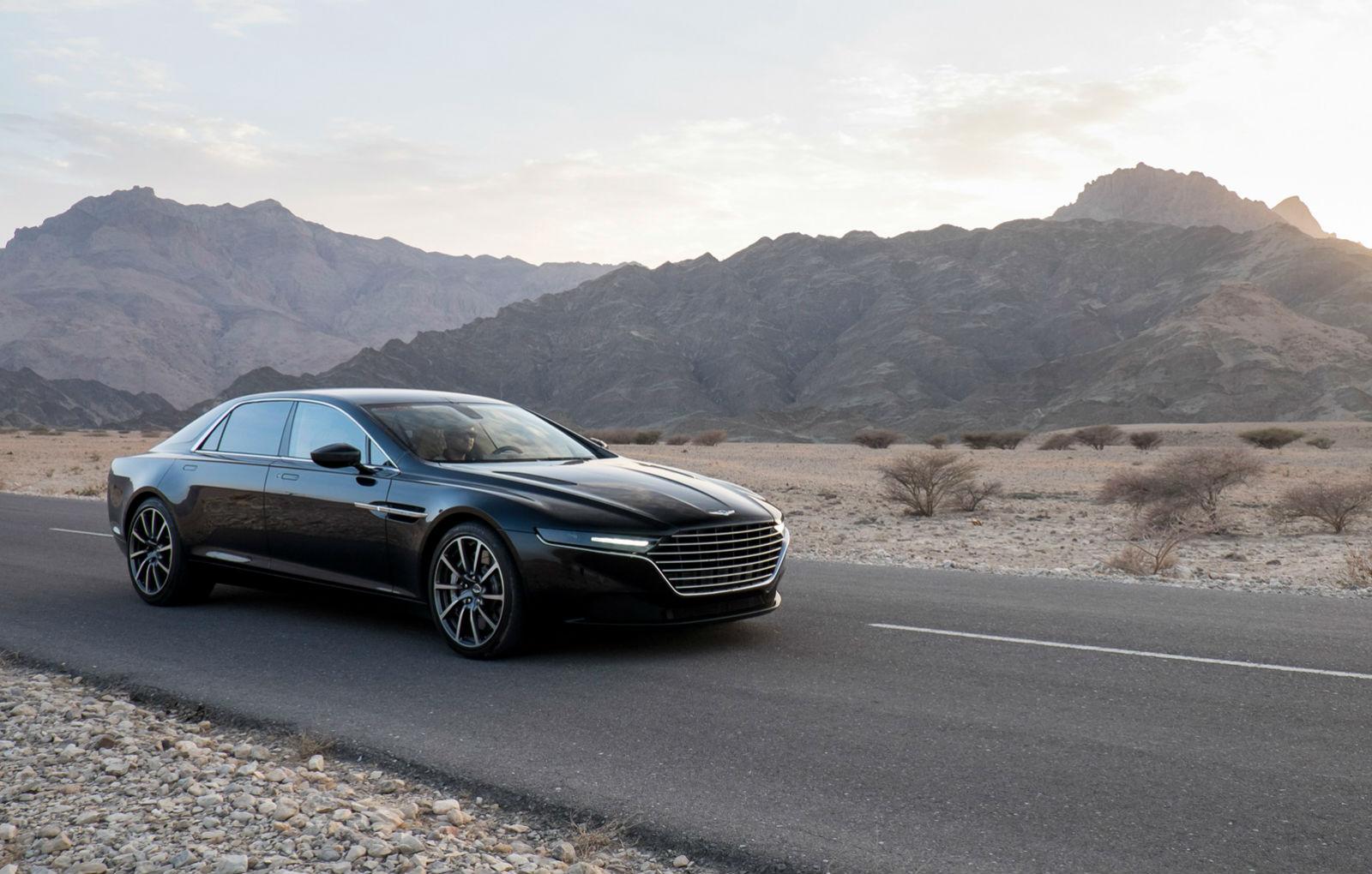 2014 Aston Martin Lagonda Black