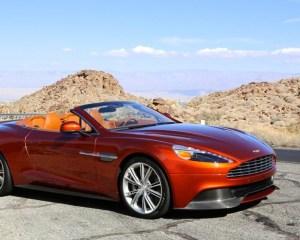 2014 Aston Martin Vanquish Orange