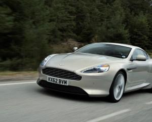 2014 Model Aston Martin DB9 Silver