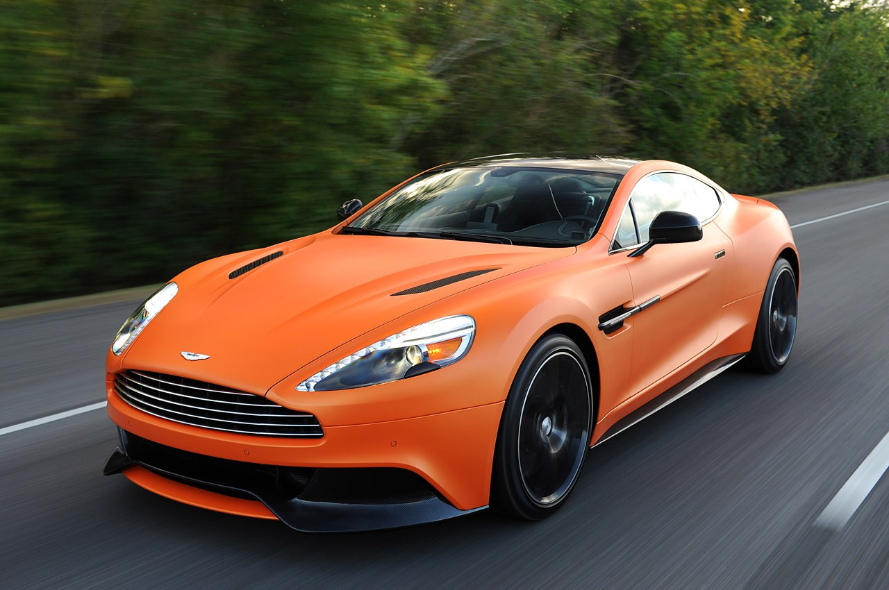 2014 Model Aston Martin Vanquish