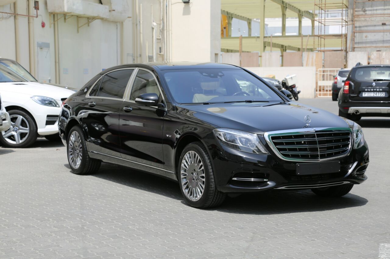 2015 Mercedes-Maybach S600