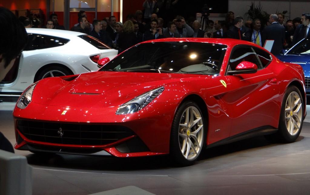 Auto Show: 2015 Ferrari F12berlinetta