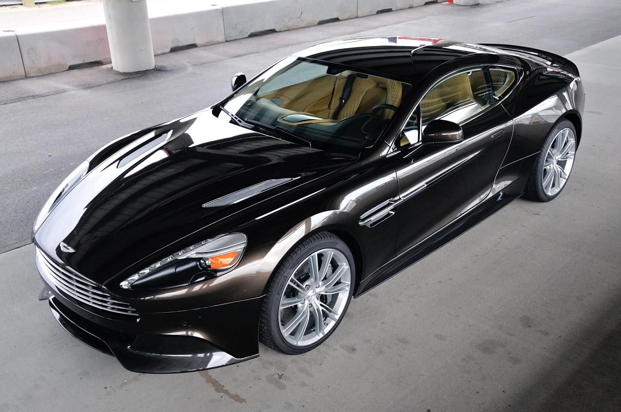 Black 2014 Aston Martin Vanquish