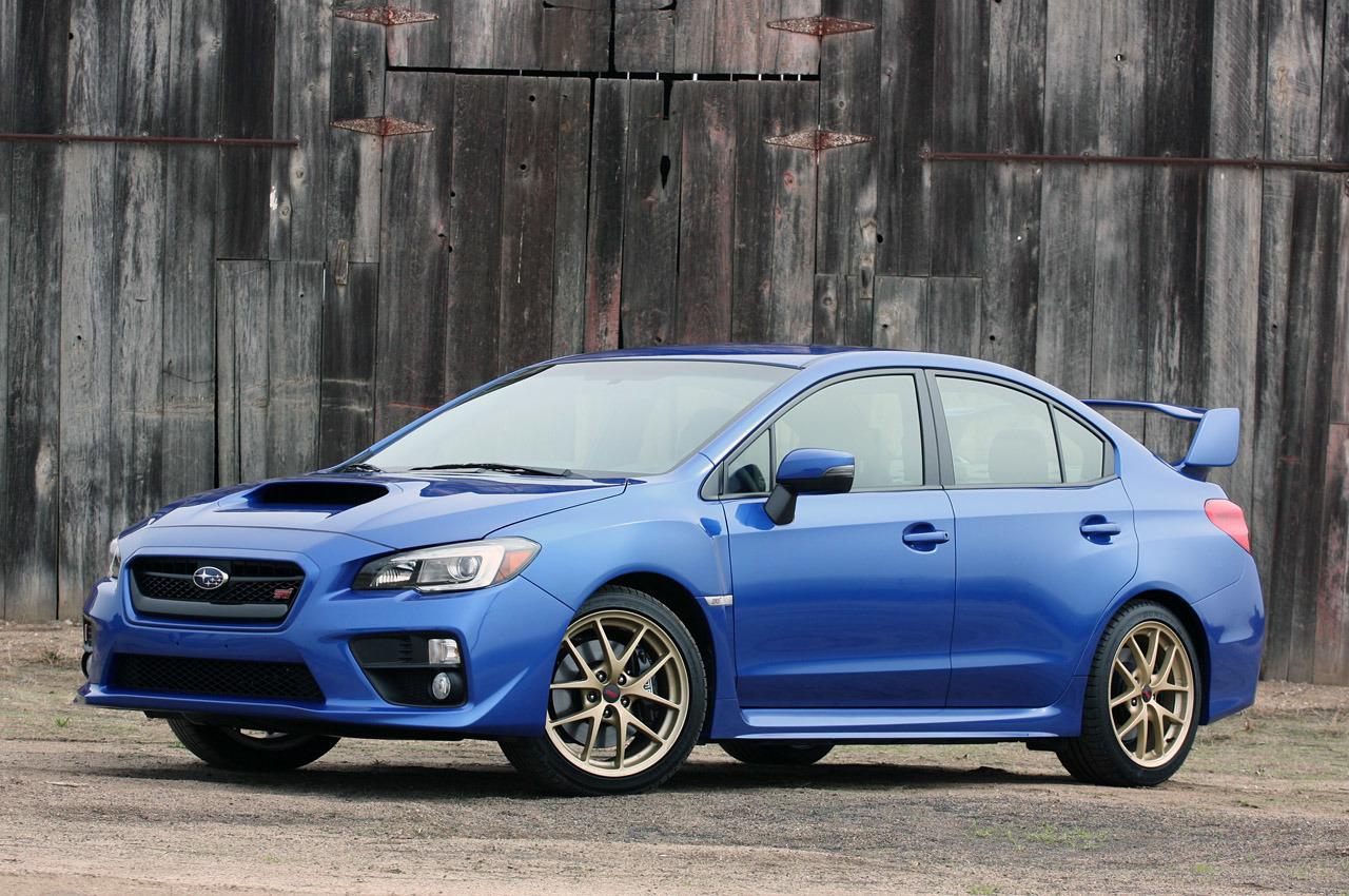 Exterior Preview: 2015 Subaru WRX STI
