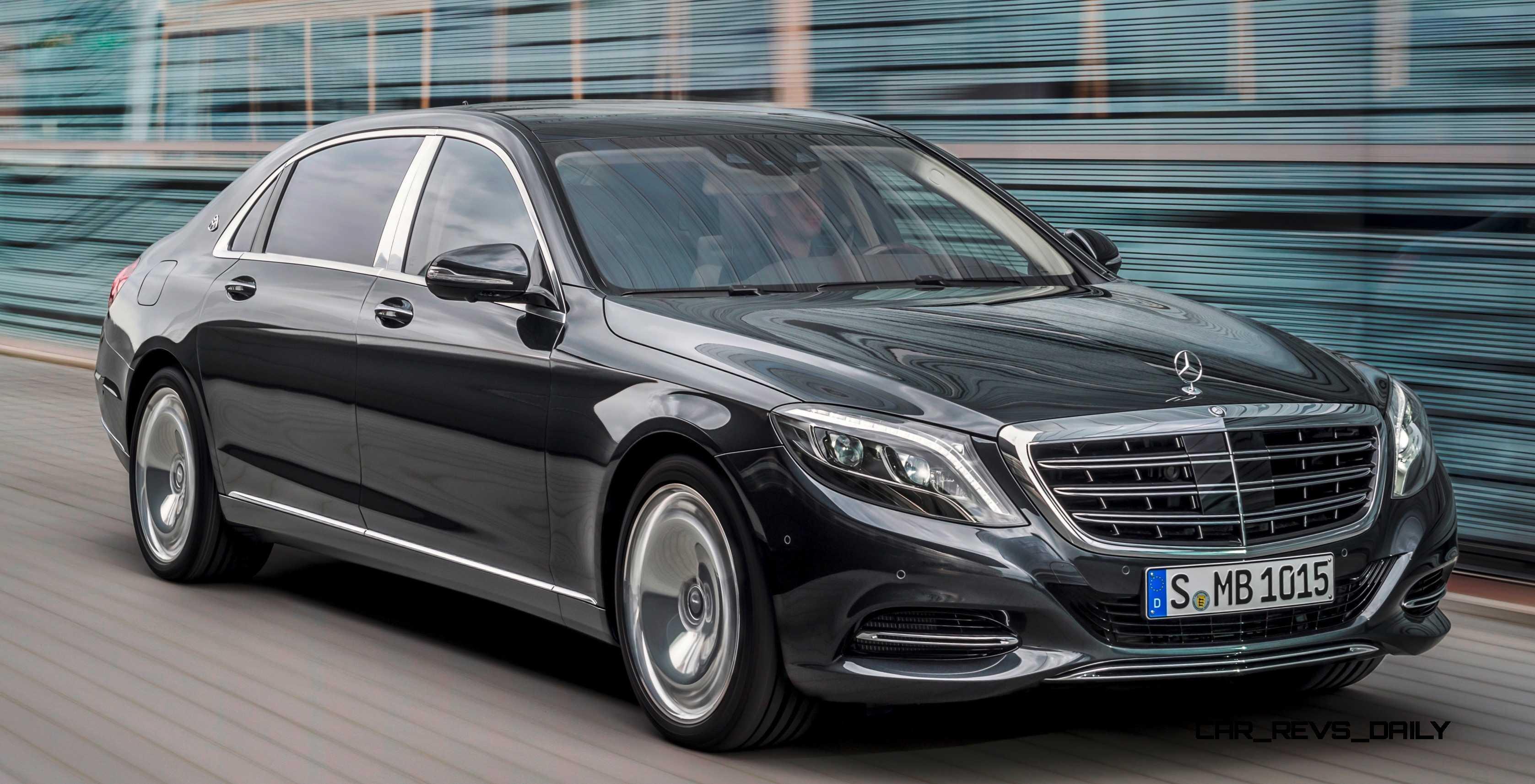 Exterior Profile: 2015 Mercedes-Maybach S600