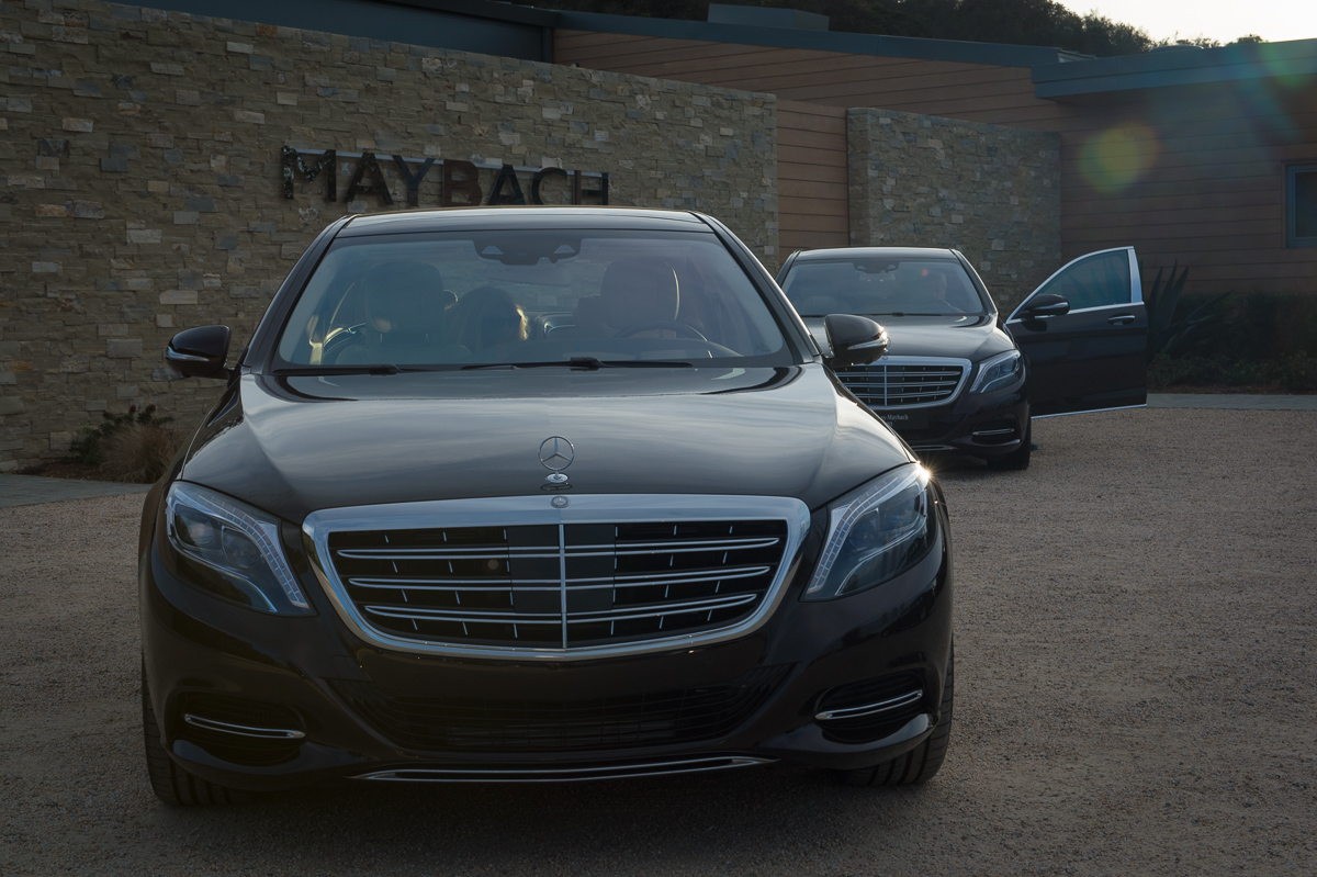 Front Exterior: 2015 Mercedes-Maybach S600