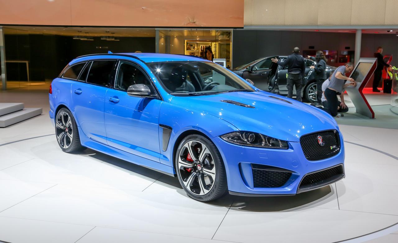 Model of 2015 Jaguar XFR-S (Blue)
