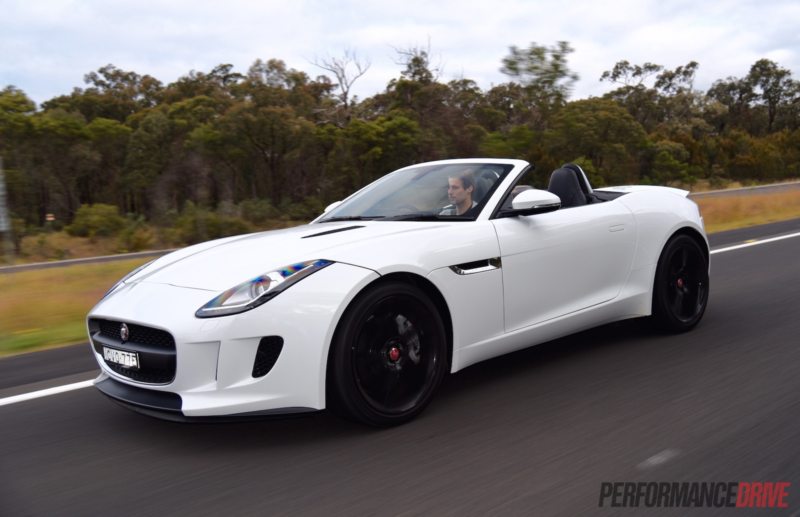 New: 2015 Jaguar F-Type V6 (White)